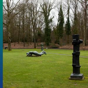 Statue garden in National Park Hoge Veluwe